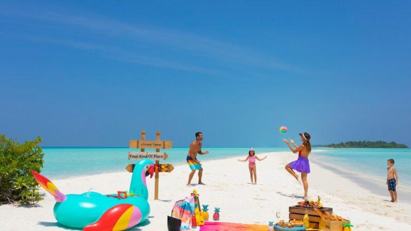 7 أسباب تجعل كانديما واحدة من أكثر الوجهات المناسبة للأطفال في جزر المالديف