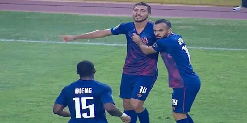 الأهلي يفوز على الترجي في تونس بهدف ويضع قدما في نهائي دوري الأبطال
