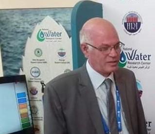 الدكتور احمد البلاسى مديراً لمعهد بحوث الموارد المائية