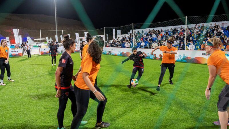 فريق كفو يحقق الفوز في بطولة كأس العالم للأهداف العالمية والتي تقام لأول مرة في المملكة العربية السعودية