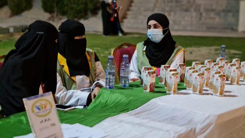 فعالية اليوم الوطني السعودي ٩١ الصحي التوعوي لفريق همسات الثقافي