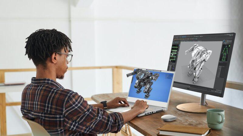 آيسر تدعم مبدعي المحتوى ثلاثي الأبعاد من خلال طرح حاسوب ConceptD 7 SpatialLabs Edition