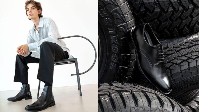 شركة هنكوك تطرح تشكيلة من الأحذية المصنوعة من الإطارات المعاد تدويرها
