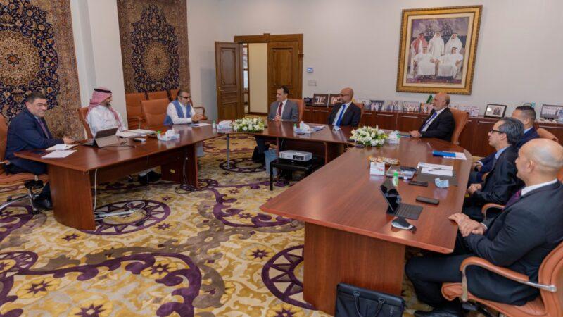 غيوم كارتييه يقوم بزيارة فريق عمل ووكلاء نيسان العربية السعودية لأول مرة